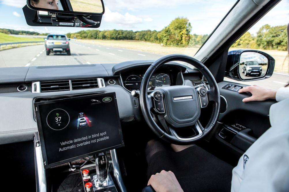self-driven car